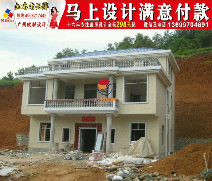 农村自建房设计图二层江苏豪华别墅